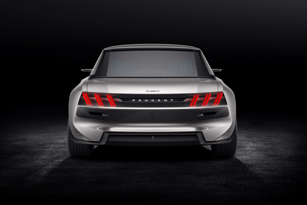 Peugeot e-Legend concept is a modern take on the iconic 504