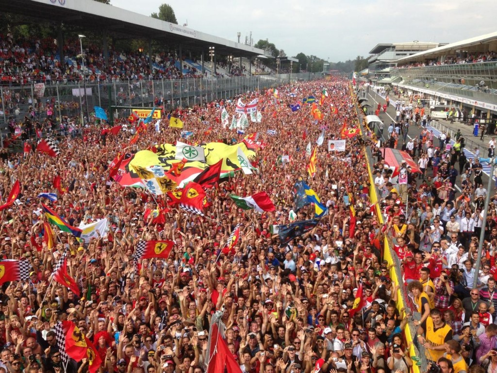 Photograph taken by Fernando Alonso at Monza in 2013, up for auction with Coys