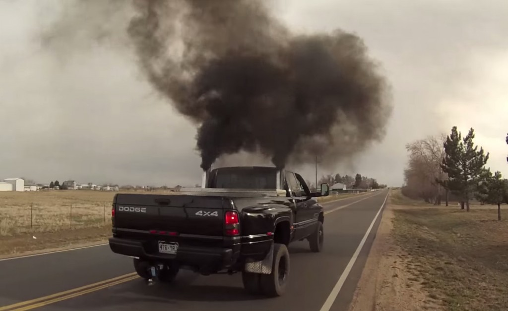 "Diesel Trucks For Sale Colorado >> Smoke and you're a bandit: Colorado moves to ban ""rolling coal"""