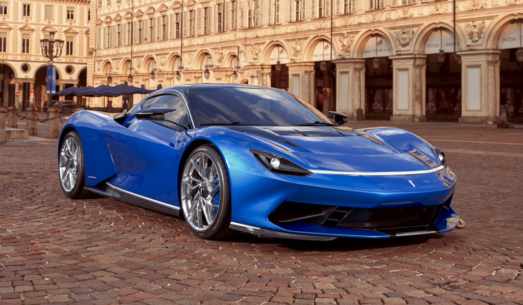 Pininfarina Battista electric hypercar sports new face following aerodynamic tests