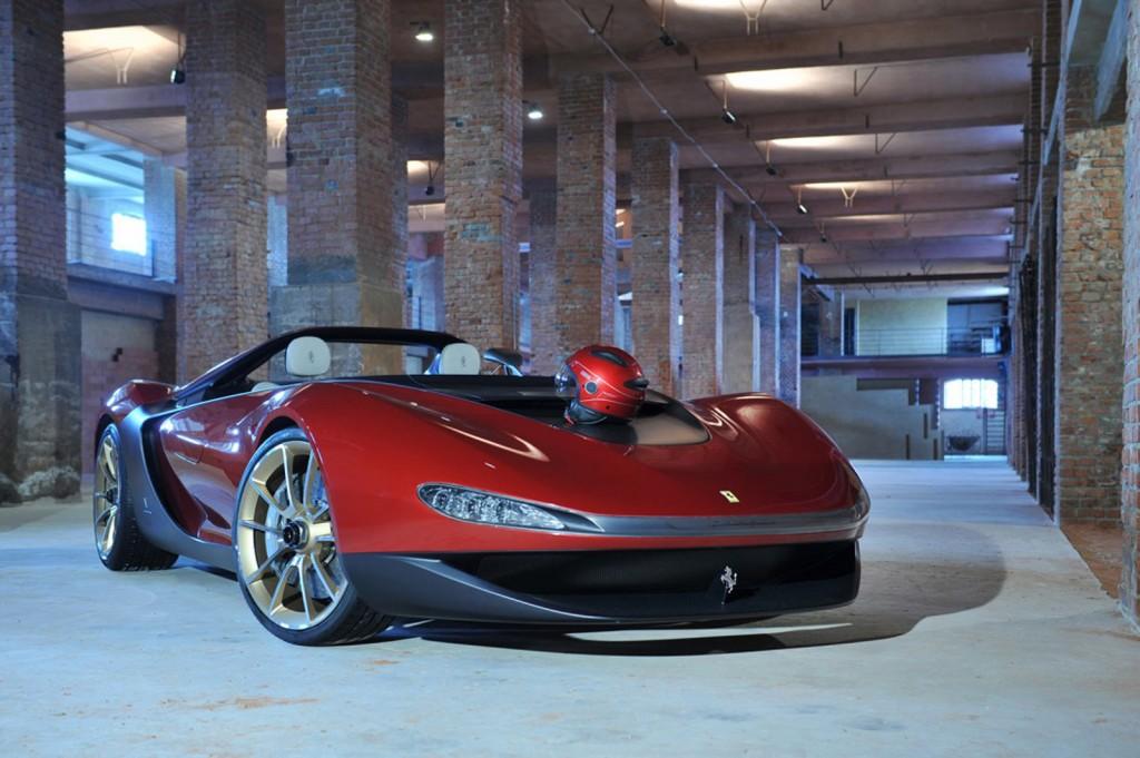 Pininfarinas Ferrari Based Sergio Concept Debuts In Geneva