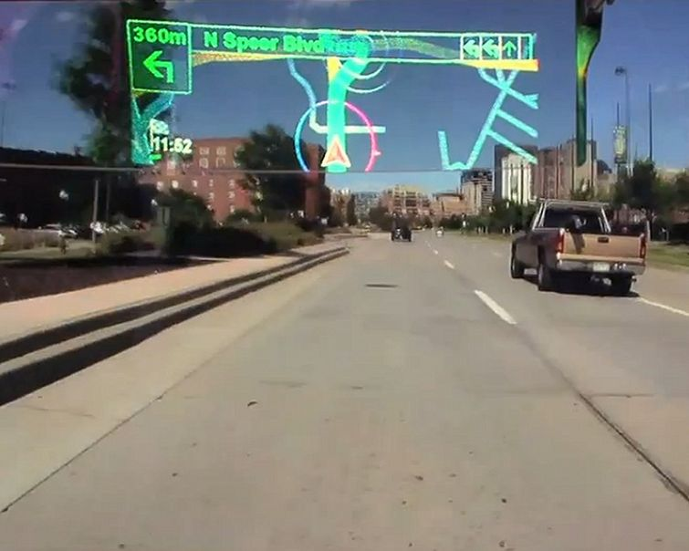 Pioneer Latest To Reveal Head-Up-Display Technology