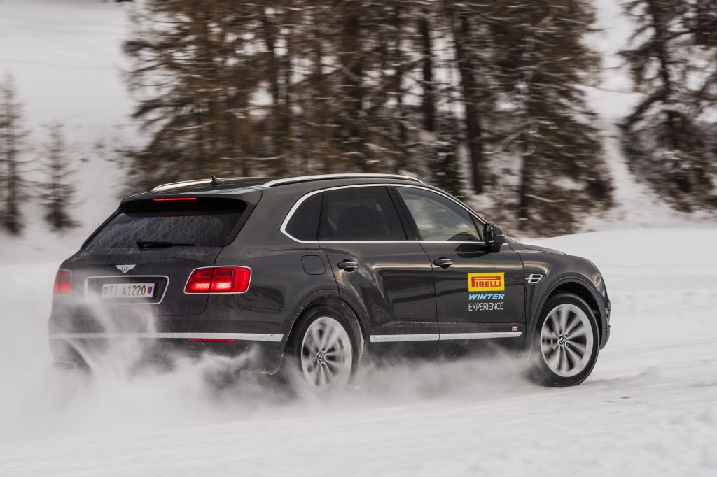 Pirelli Winter Driving School, St. Moritz, Switzerland