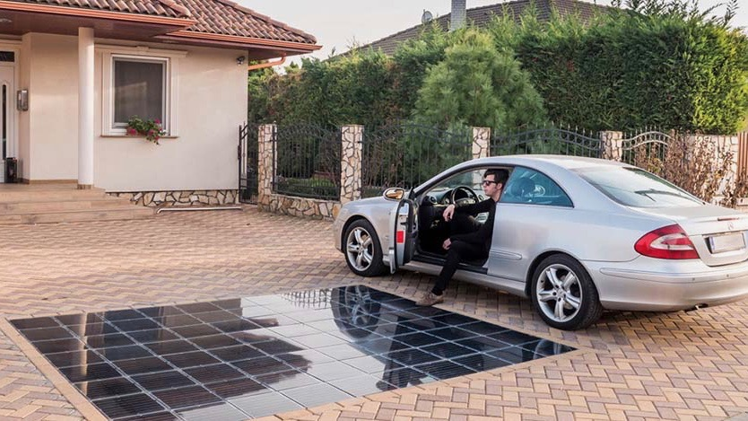 Put the EV in the garage: Solar driveways could power entire households