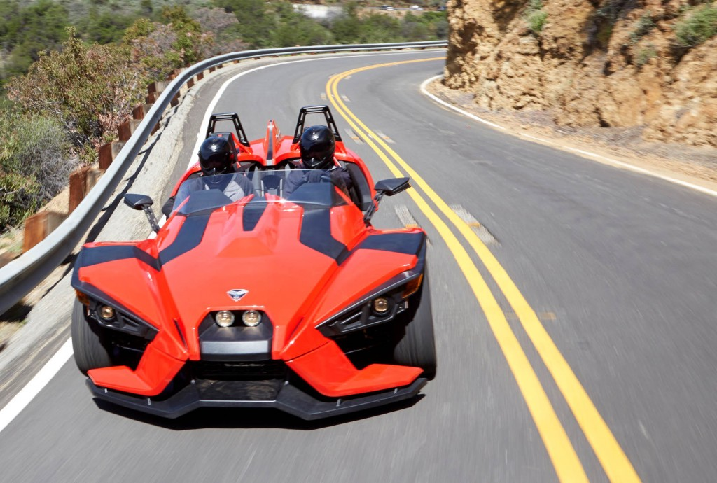 Polaris Slingshot: Is A 173-HP, $20K \'3-Wheeled Motorcycle\' A Car?