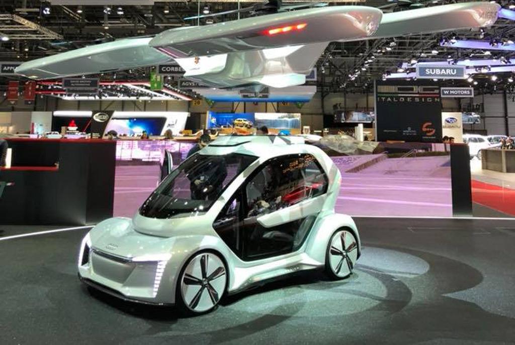 Audi Joins Italdesign And Airbus On Pop Up Autonomous