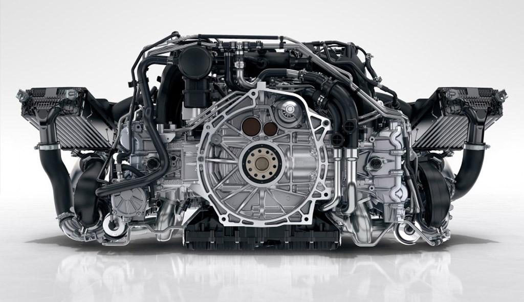 Hear The 2017 Porsche 911 Carrera's New Twin-Turbo 3.0-Liter Six: Video