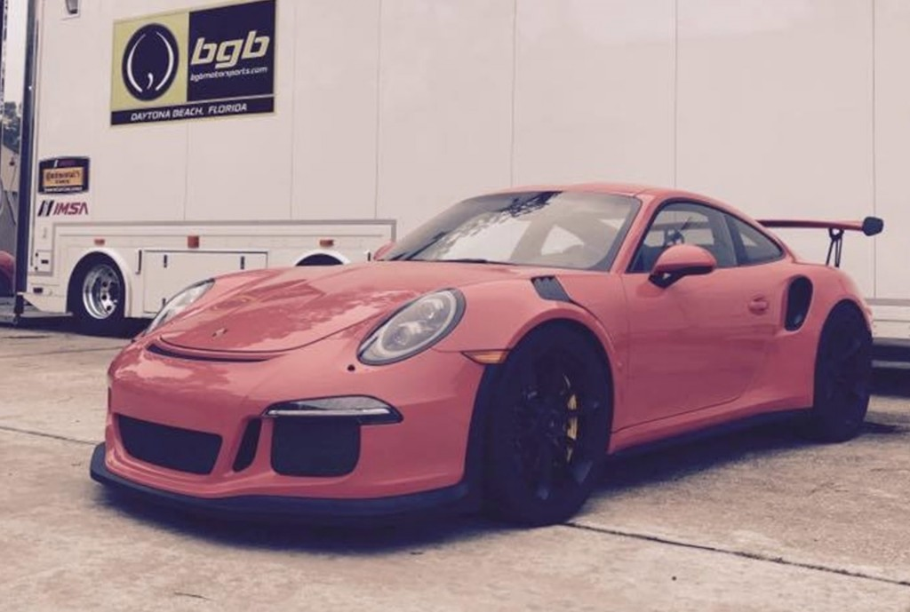 Porsche 911 GT3 RS undergoes manual transmission swap, Photo: BGB Motorsports