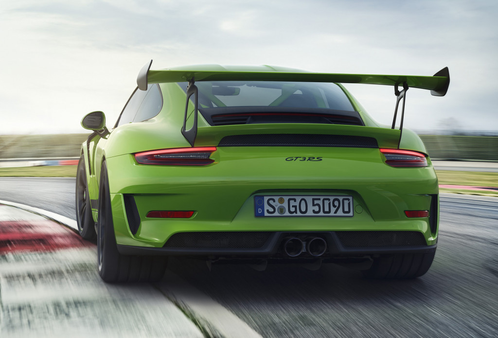 2019 Porsche 911 GT3 RS revealed, priced from $188,550