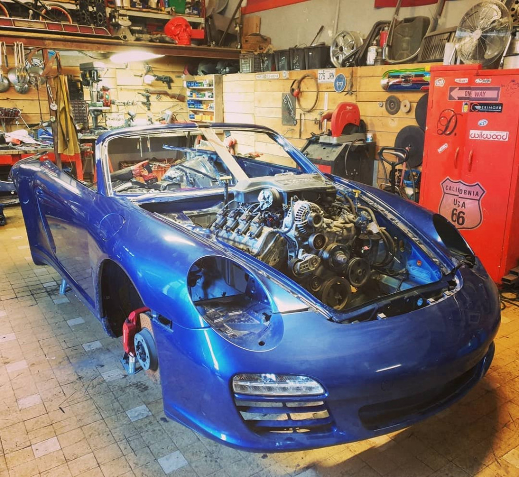 French firm building Hemi-powered, front-engined Porsche 911