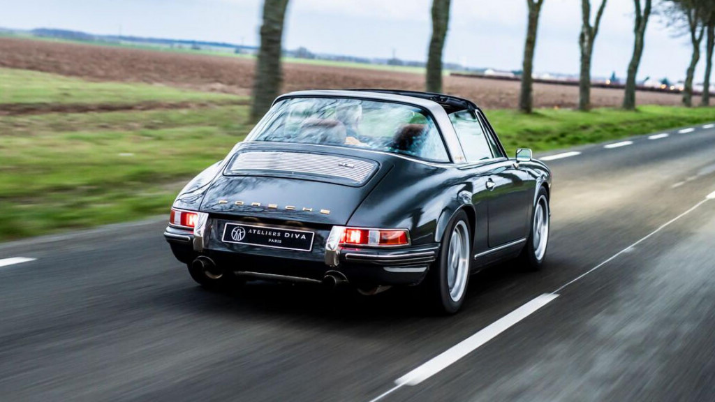 Meet the French firm rebuilding classic Porsches in a modern way