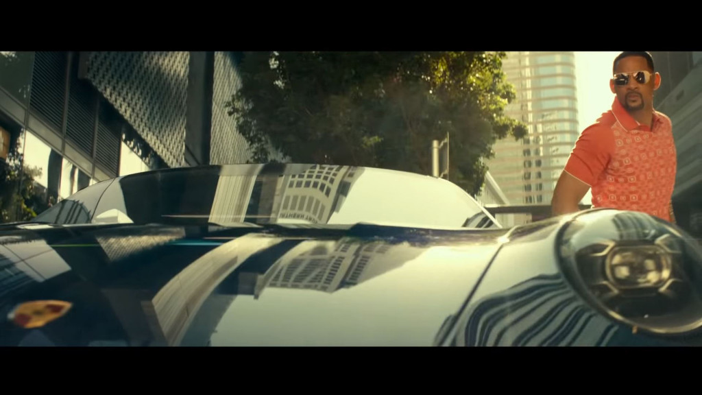 """Will Smith is back in a Porsche 911 as Mike Lowrey in """"Bad Boys For Life"""""""