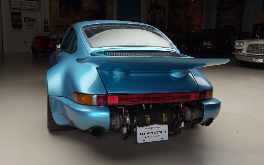 Bisimoto's 850-hp twin-turbo 911 visits Jay Leno's Garage