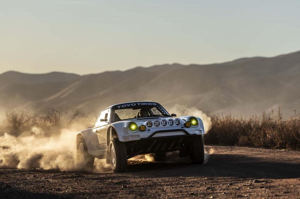 Wild 964-based Porsche 911 is a $650,000 Baja dream car