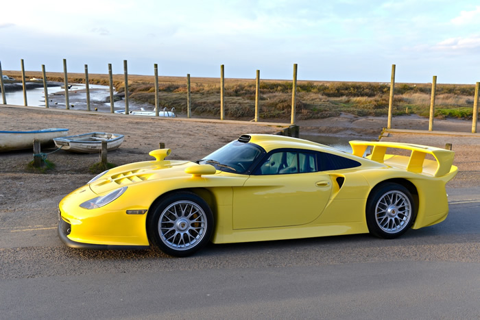 rare porsche 911 gt1 evo stra enversion for sale. Black Bedroom Furniture Sets. Home Design Ideas