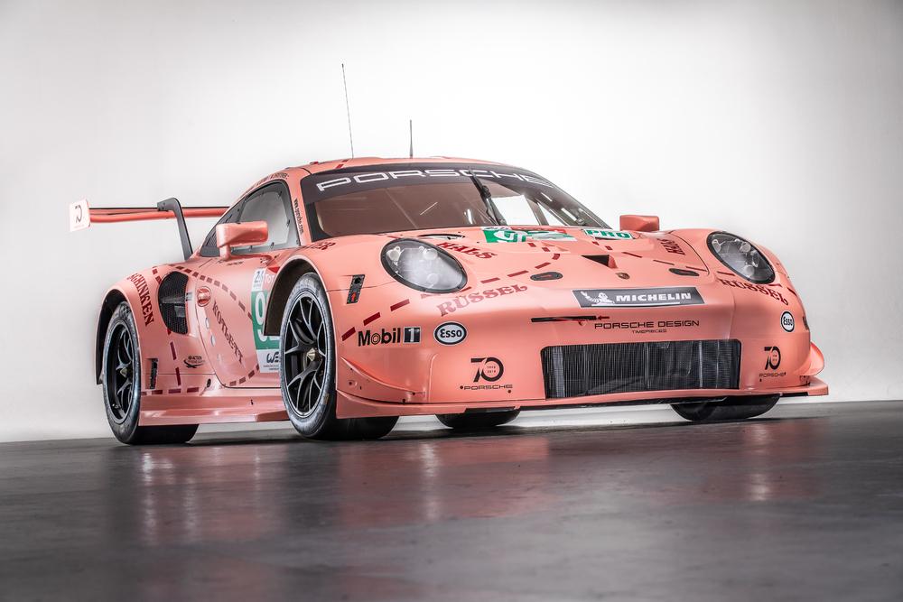 Historic liveries will line Porsche's 911 RSR race cars at Le Mans