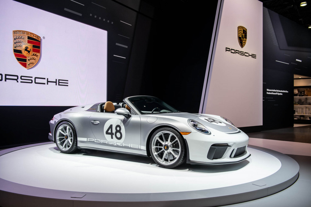 2019 Porsche 911 Speedster, 2019 New York International Auto Show