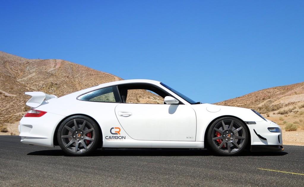 Porsche 911 with Carbon Revolution CR-9 carbon-fiber wheels