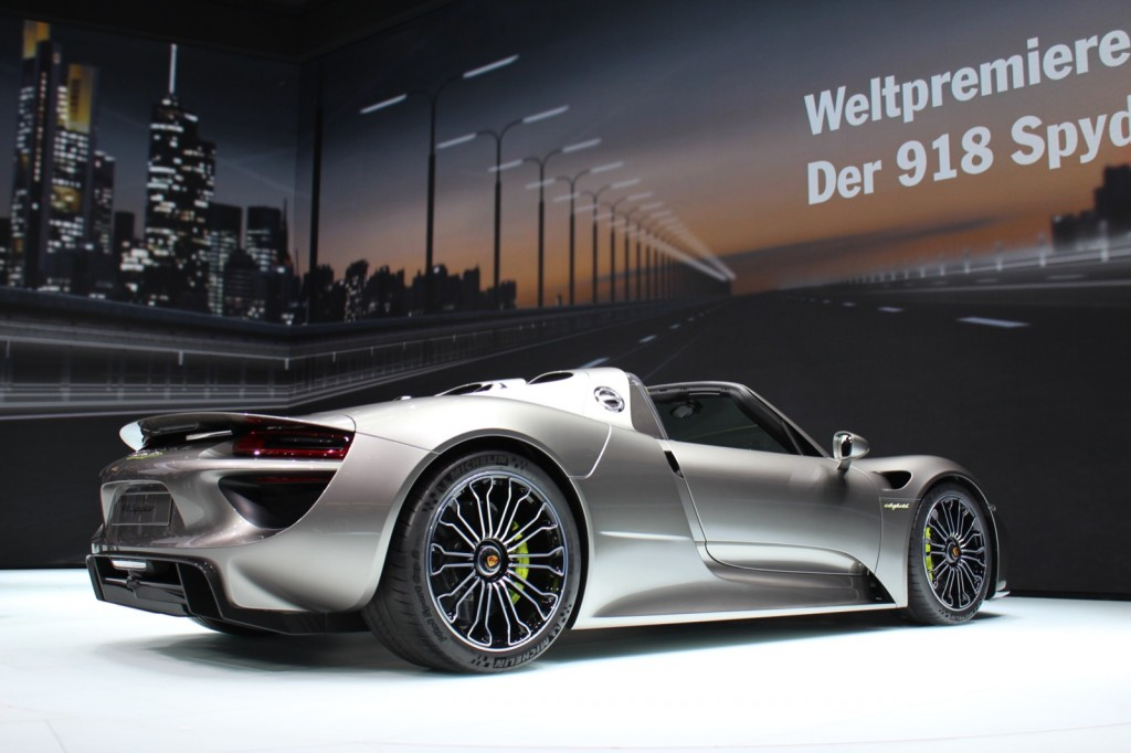 Porsche 918 Spyder, 2013 Frankfurt Auto Show