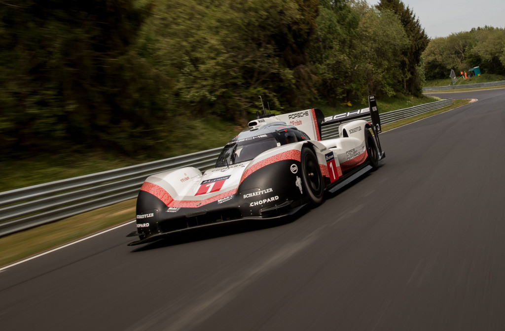 Porsche 919 Evo obliterates Nürburgring record with 5:19 run