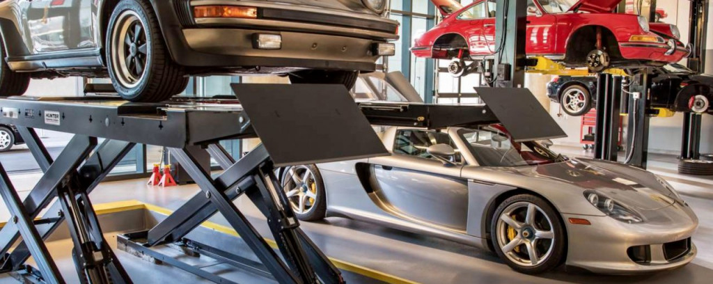 Porsche also has a company-owned restoration shop at its US headquarters in Atlanta
