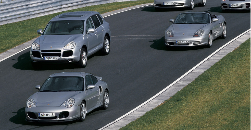 Porsche becomes more than a sports car company with launch of first-generation Cayenne in 2002
