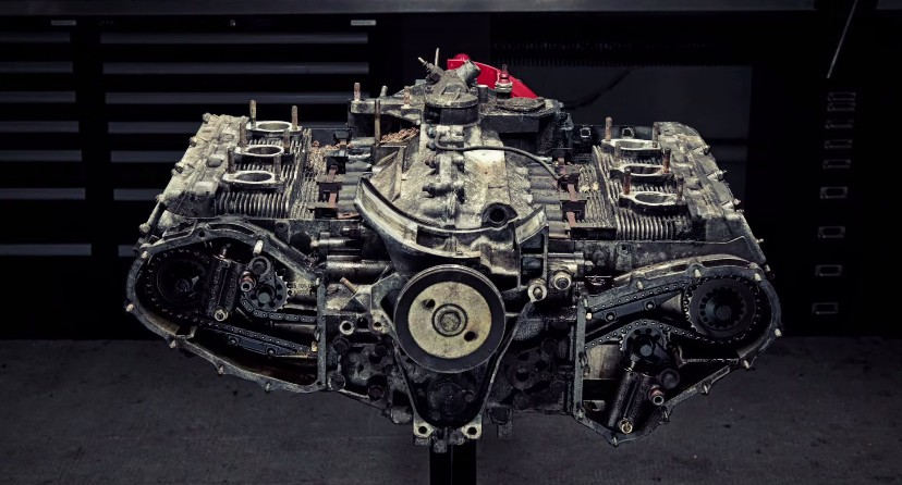 Hypnotic Time Lapse Teardown Of A Porsche Flat Six Video