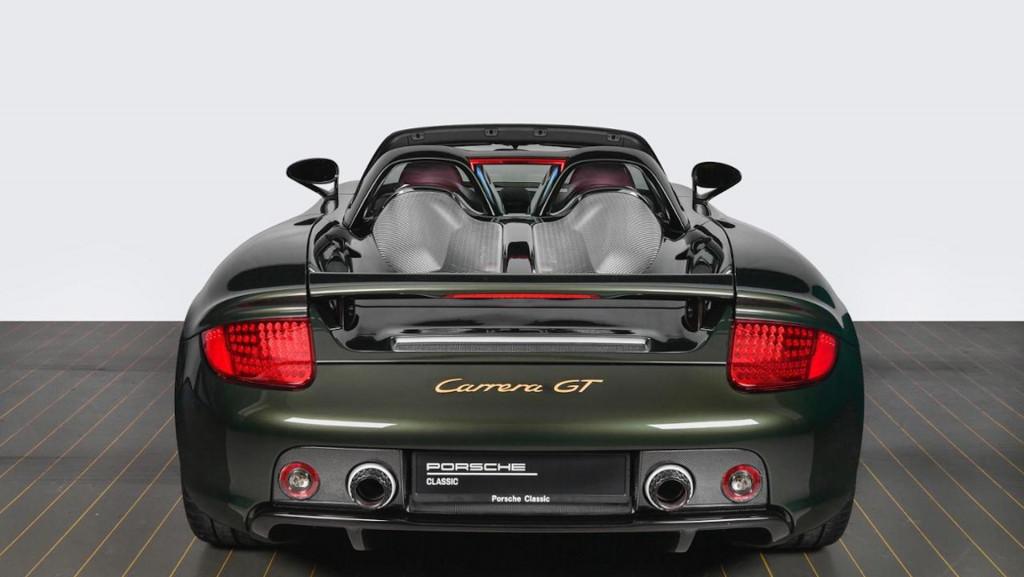Porsche Carrera GT restored by Porsche Classic