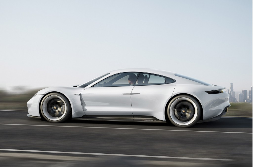 Porsche gives us our best look yet at the production Mission E