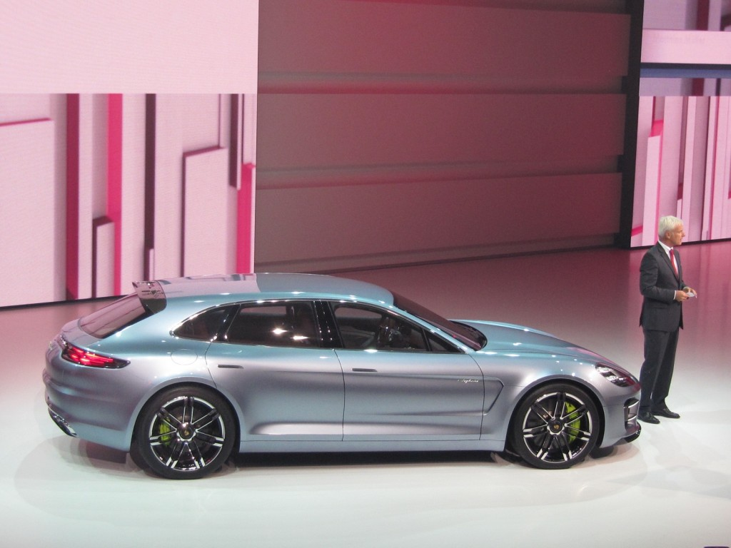 Android Auto Mazda >> Image: Porsche Panamera Sport Turismo plug-in hybrid concept, Paris Motor Show preview, Sep 2012 ...