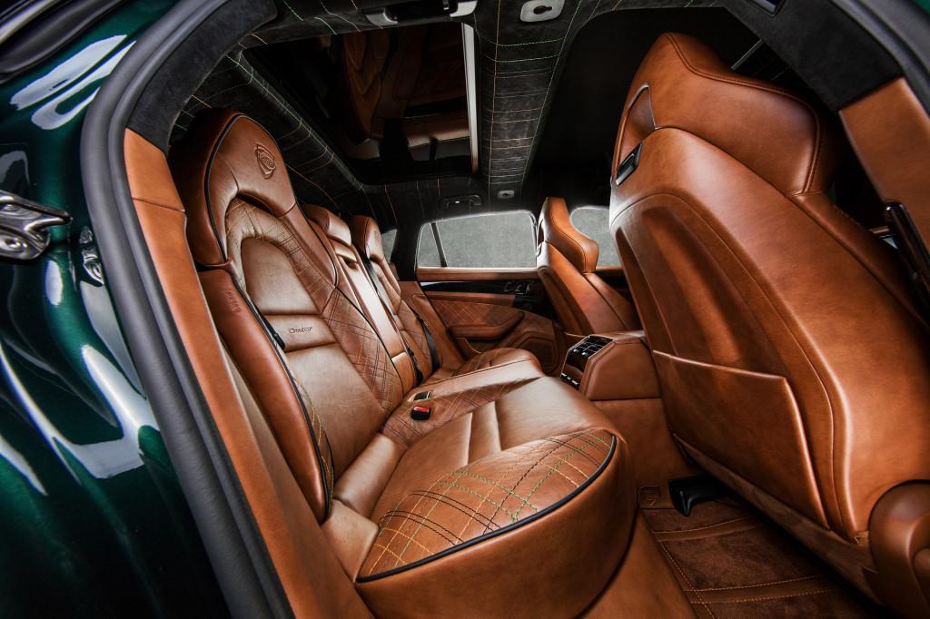 TechArt GrandGT Supreme is a faster fancier Porsche Panamera Sport Turismo