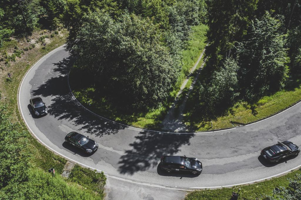2021 Porsche Panamera prototype drive