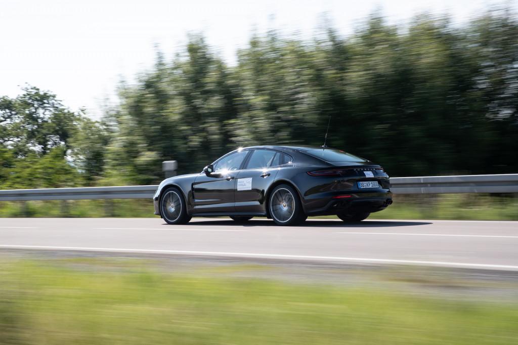 2021 Porsche Panamera Turbo S prototype