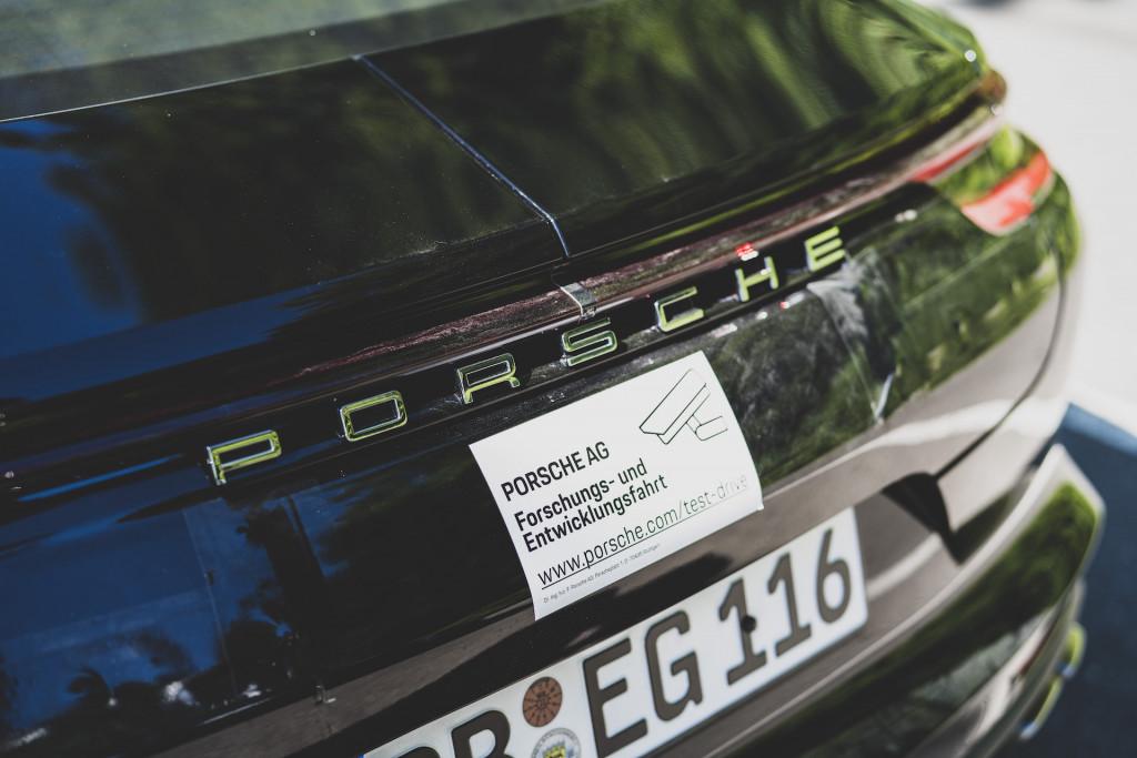 2021 Porsche Panamera Turbo S Executive prototype