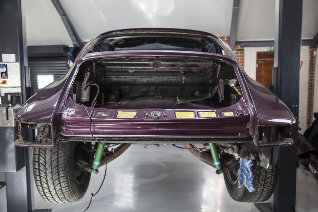 Follow the restoration of an uber-rare Porsche 911 Carrera RS