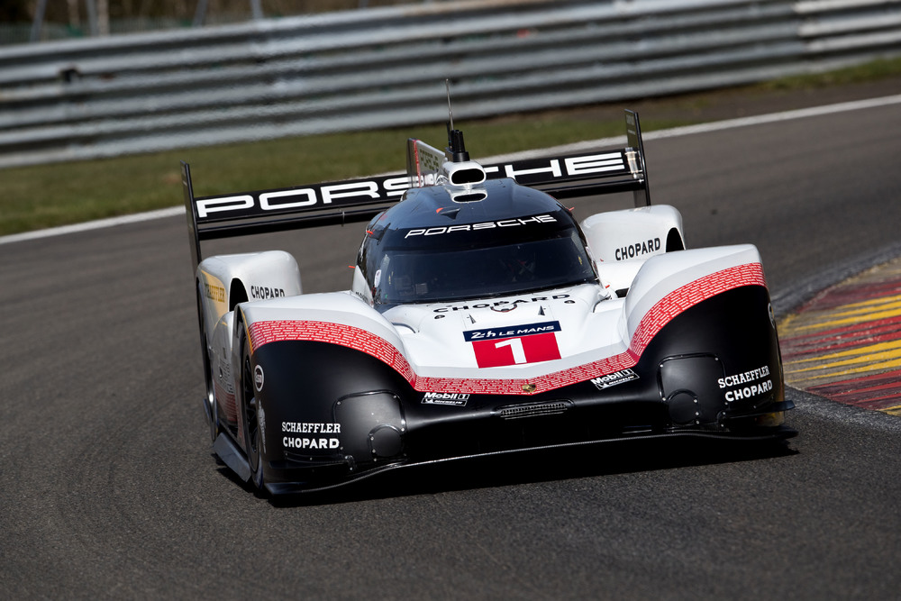 Porsche might be chasing the Nürburgring's all-time record with the 919 Evo