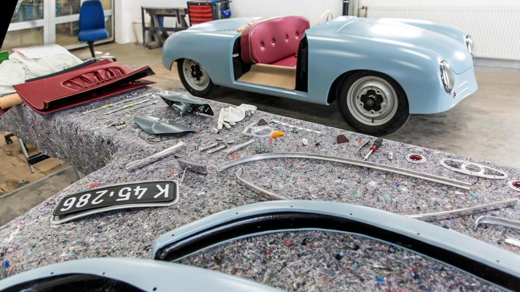 Porsche creates replica of the first 356 to mark 70th anniversary