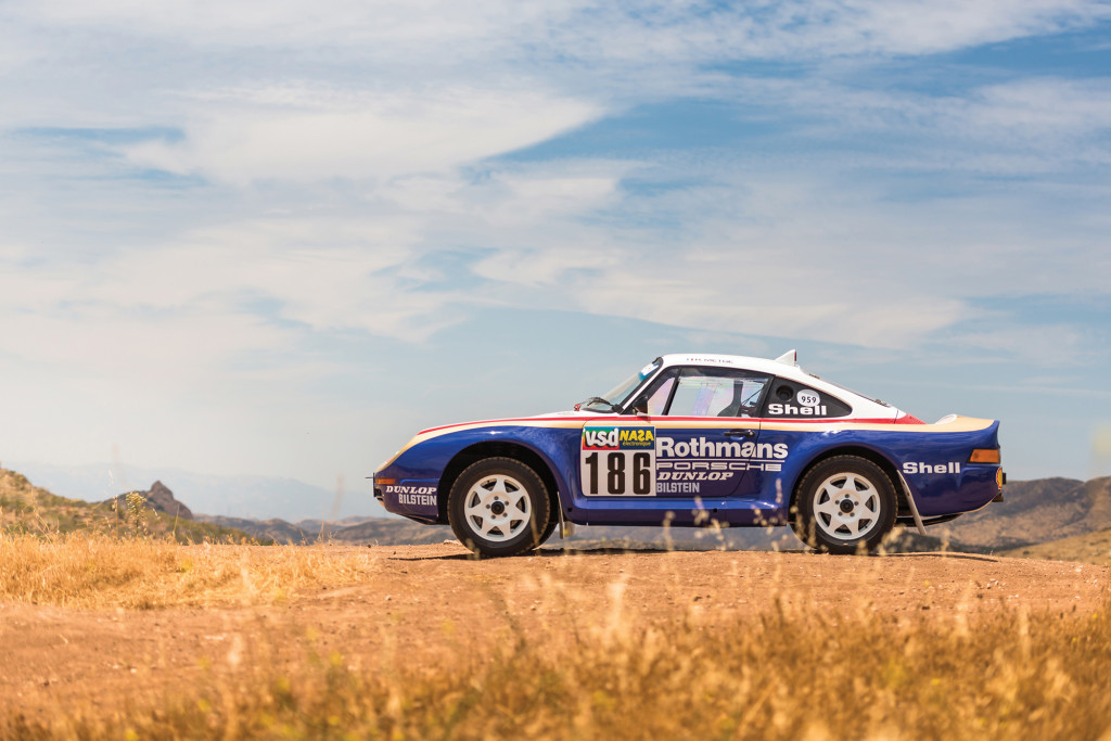 Paris-Dakar Porsche 959 to be first of its kind to cross auction block