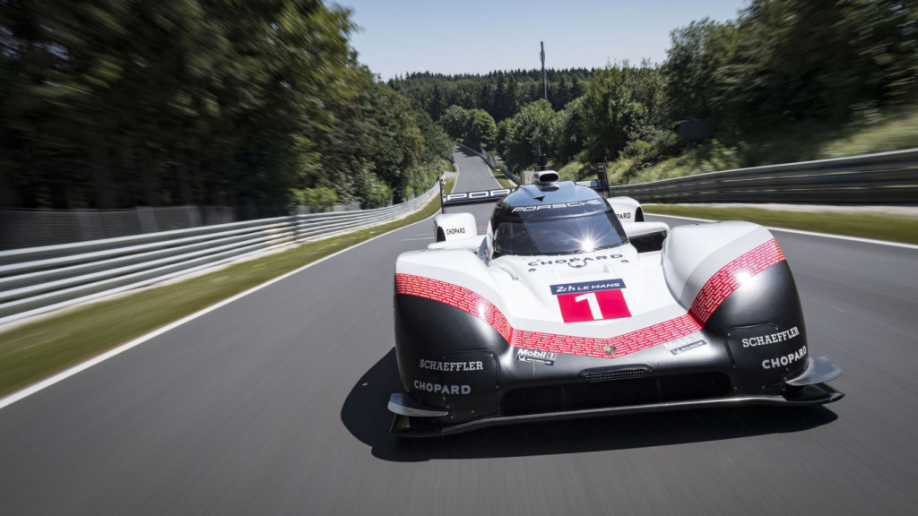 Porsche boasts about its record-breaking Nürburgring run