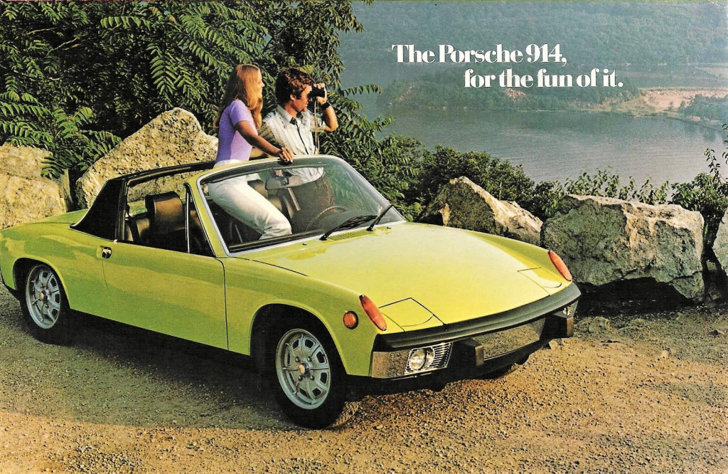 Porsche focused on youth and adventure in its 914 advertising | Porsche archive