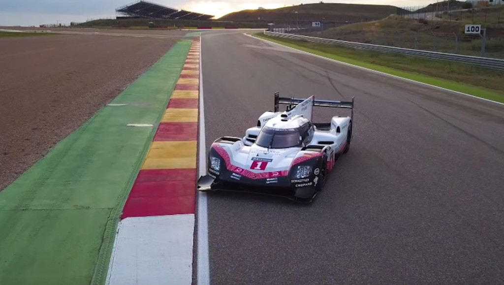 Chris Harris goes for the drive of his life in the Le Mans-winning Porsche 919 Hybrid