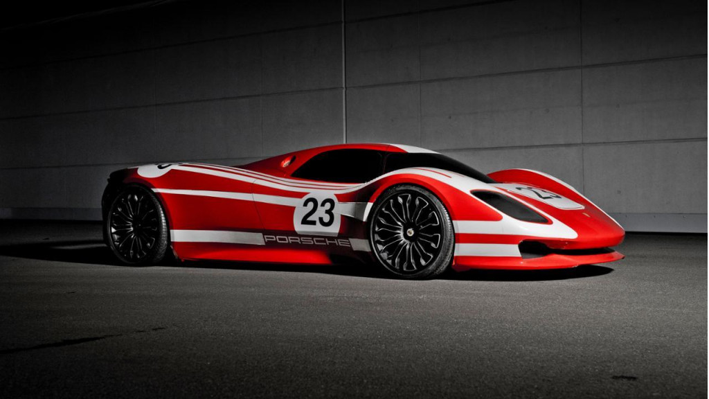 The story behind Porsche's stunning 917 tribute concept