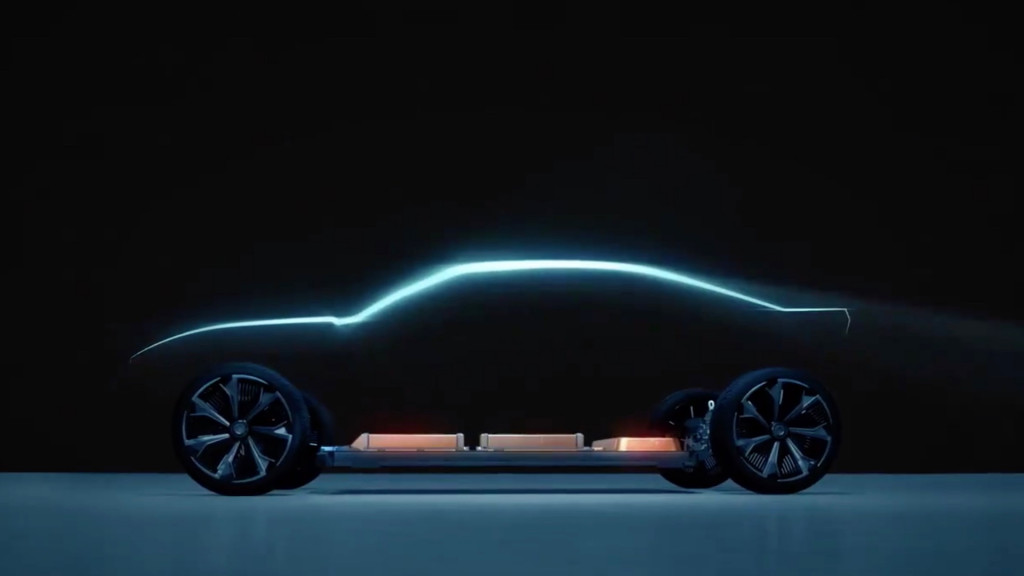 Possible electric Chevrolet Camaro in GM Ultium teaser video