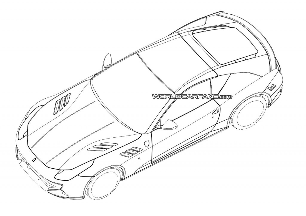 2015 Ferrari California Replacement Patent Drawings Leaked