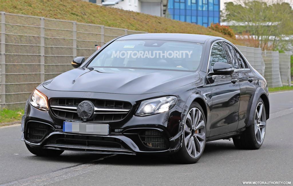 Mercedes likely testing platform for next SL