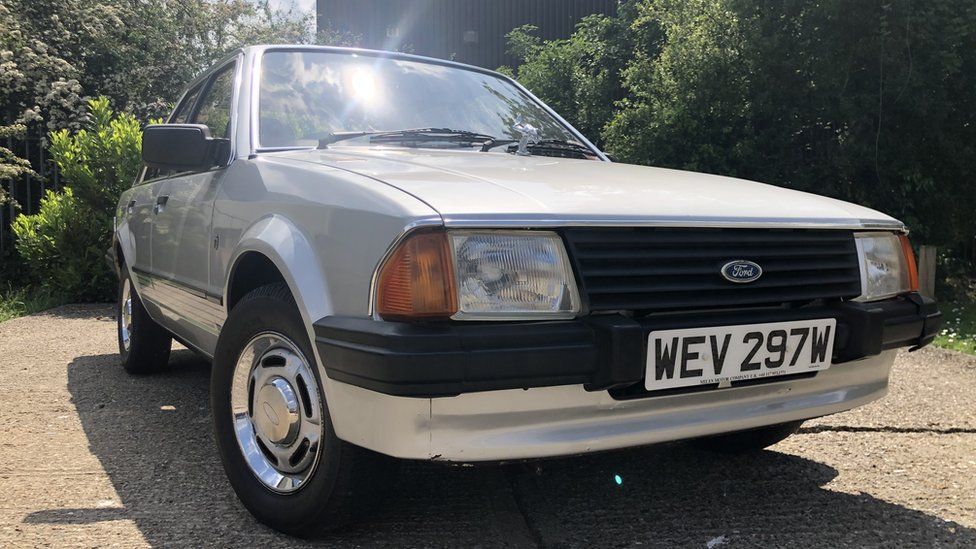 Princess Diana's 1981 Ford Escort heads to auction