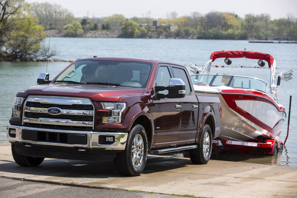 2016 Ford F-150 Adds Fuss-Free Auto-Steering For Trailer Backup