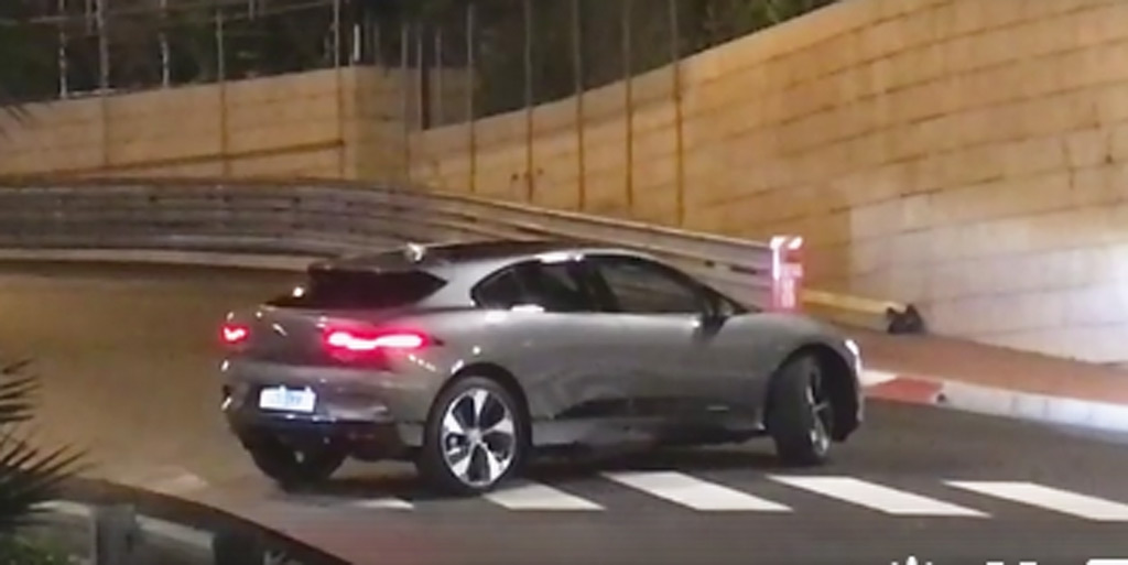 2019 Jaguar I Pace Spotted During Photo Shoot