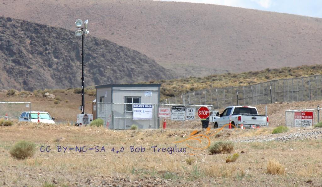 Project Tiger site at USA Parkway Business Park, Reno--for Tesla gigafactory? [photo: Bob Tregilus]