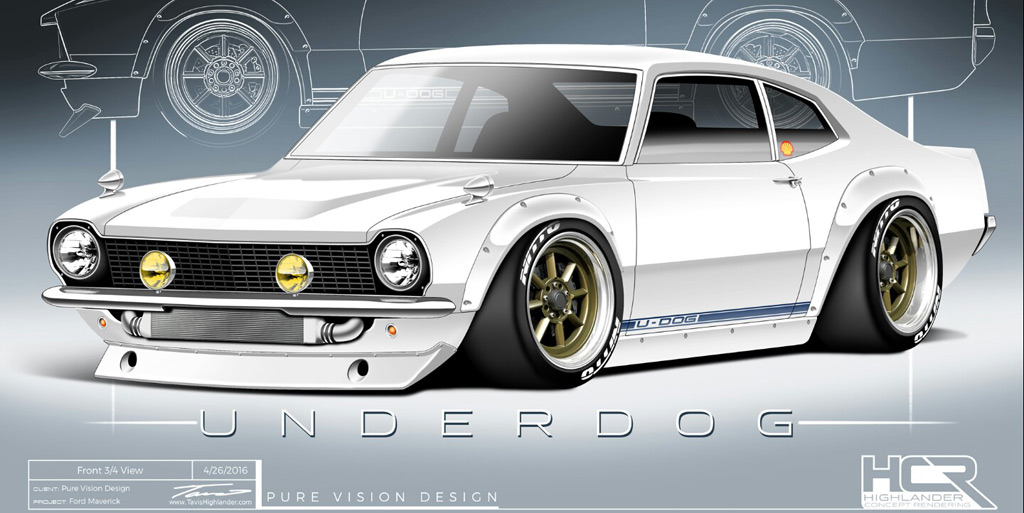 Ford Maverick Serves As Fast And Furious Star Sung Kang S